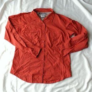 Columbia button up shirt.